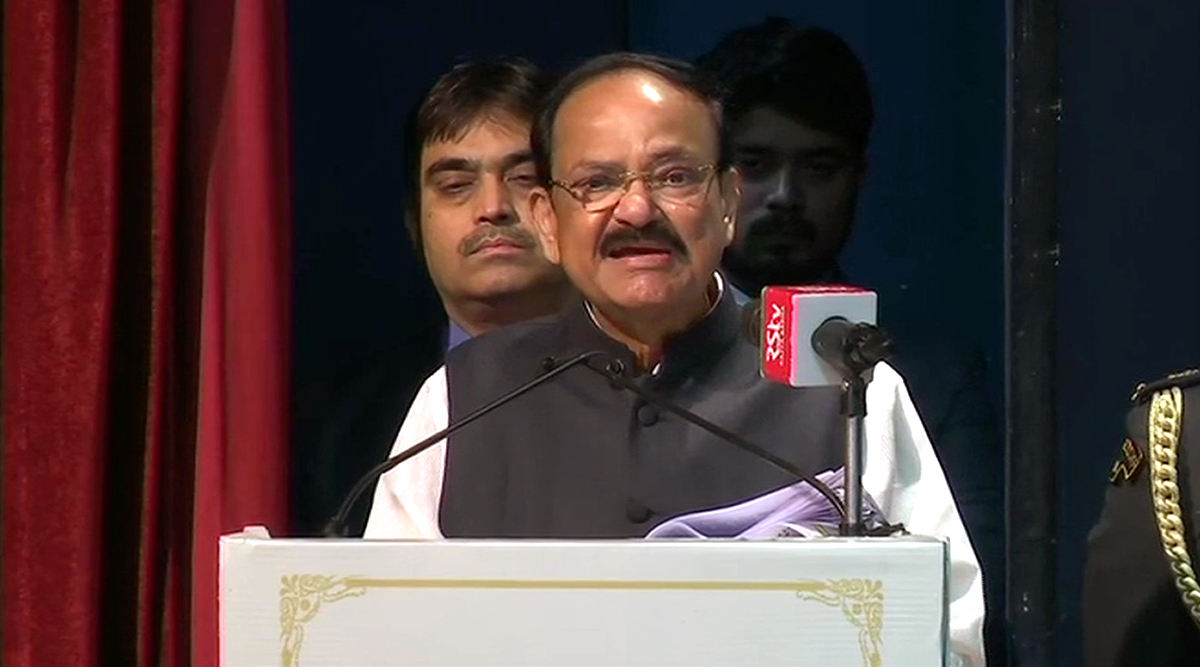 Vice President Venkaiah Naidu Speaks on CJI SA Bobde's 'Instant Justice' Remark, Says 'Can't Have Constant Delays' Either