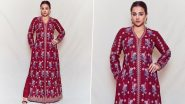 Yo or Hell No? Vidya Balan in Rs 110,000 Anita Dongre Set for FICCI Jaipur