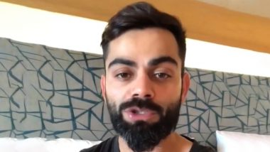Virat Kohli Has A Video Message for RCB Fans Ahead of IPL 2020 Player Auction