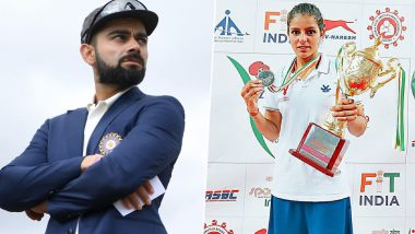 Virat Kohli Congratulates Sakshi Chaudhary for Making It to Olympic Qualifiers 2020 (See Post)