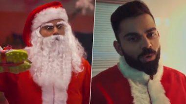 Virat Kohli Makes Pre-Christmas Festivity Special for Children at Kolkata's Shelter Home, Turns Up As Secret Santa (Watch Video)