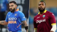 India vs West Indies Head-to-Head Record: Ahead of 1st ODI 2019, Here Are Match Results of Last Five IND vs WI Encounters