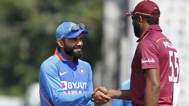 India vs West Indies 2nd ODI 2019, Toss Report & Playing XI: Virat Kohli Opts to Bowl As Navdeep Saini Makes ODI Debut