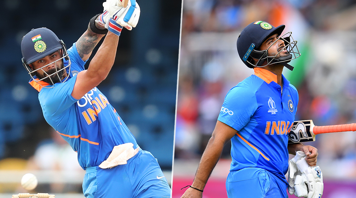 India vs West Indies 1st T20I 2019: Twitterati Applaud Virat Kohli for His Unbeaten 94, Rishabh Pant Gets Trolled Once Again