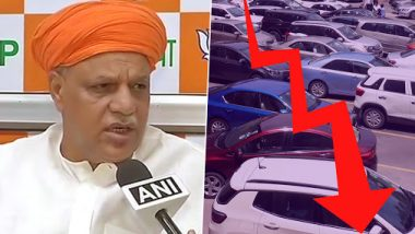 What Slowdown? BJP MP Virendra Mast Refutes Crisis in Auto Sector, Alleges 'Conspiracy to Defame Nation'