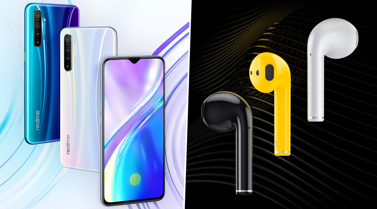 Realme X2 Smartphone & Realme Buds Air Earphones Launching Today in India; Watch Live Streaming of Realme's New Product Launch Event