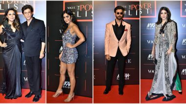 Vogue The Power List 2019 Best Dressed Celebs: Shah Rukh Khan, Katrina Kaif, Hrithik Roshan and Others Who Made Amazing Sartorial Choices For The Ceremony! (View Pics)