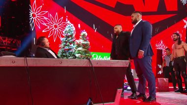 WWE Raw Dec 23, 2019 Results and Highlights: Seth Rollins Assaults Rey Mysterio After Getting Disqualified; AOP Slam Samoa Joe on Announce Table (Watch Videos)