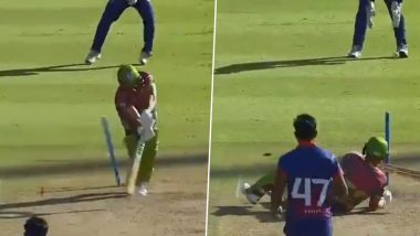 Wahab Riaz Bowls the Prettiest No-Ball Ever During Cape Town Blitz vs Tshwane Spartans Clash in Mzansi Super League 2019 (Watch Video)
