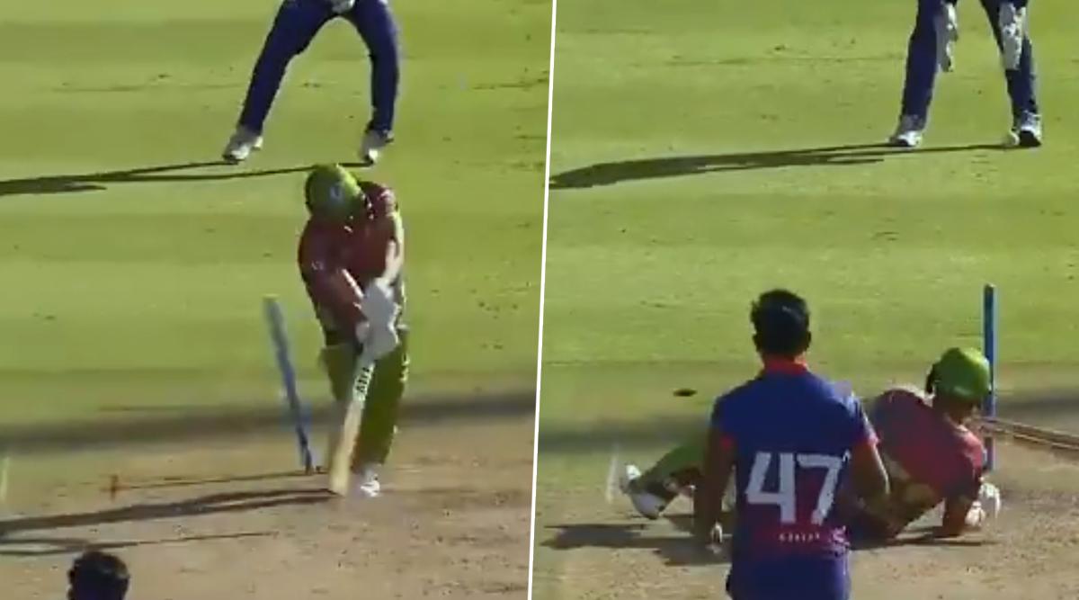 Wahab Riaz Bowls the Prettiest No-Ball Ever During Cape Town Blitz vs Tshwane Spartans Clash in Mzansi Super League 2019 (Watch Video)
