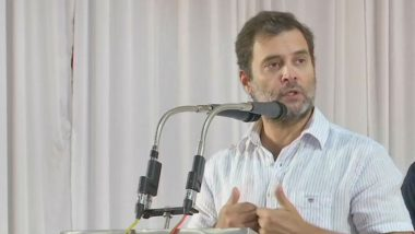 Rahul Gandhi Says India Has Become 'Rape Capital' of World, Questions PM Narendra Modi's Silence