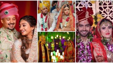 Year Ender 2019: From Mohena Kumari Singh, Sheena Bajaj To Ruhi Chaturvedi, Sonyaa Ayodhya, Here Are Some Grand Weddings Of Tinsel Town This Year