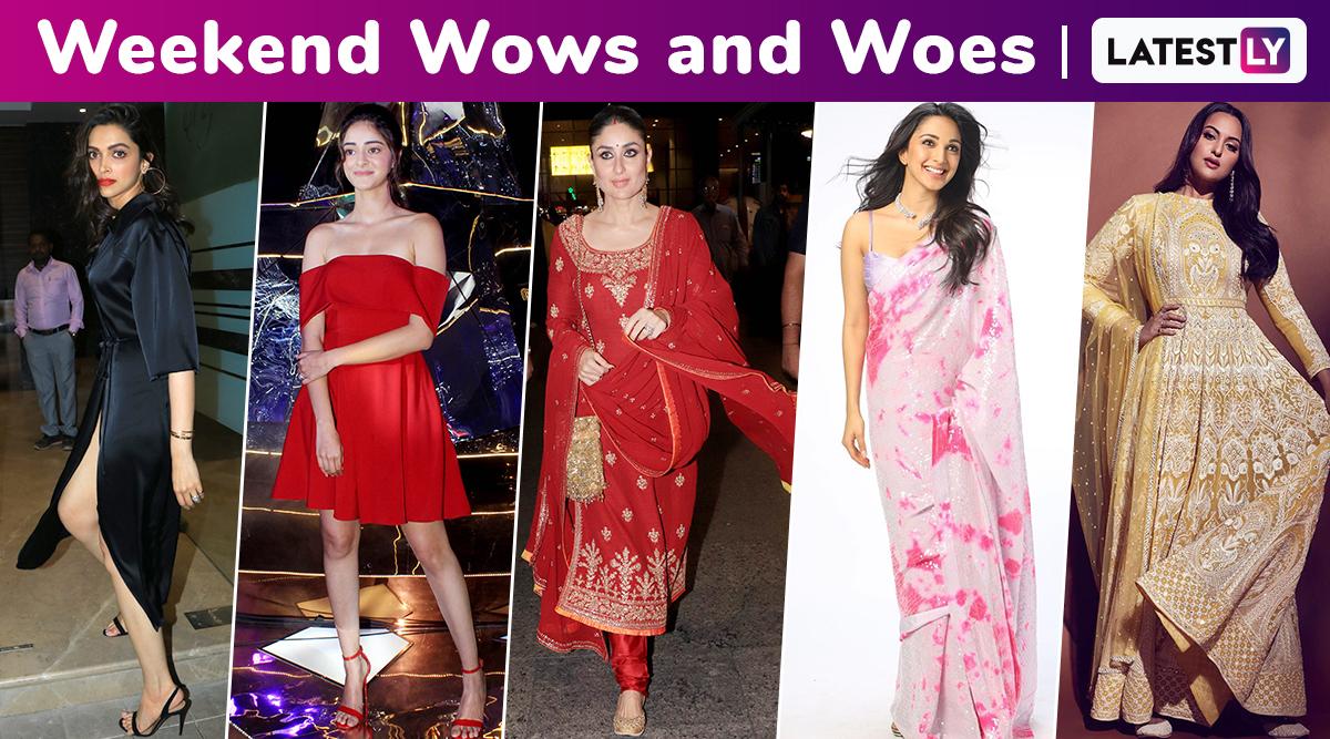 Weekend Wows and Woes: Deepika Padukone, Kareena Kapoor Khan, Kiara Advani, Ananya Panday, Kajol Devgan Daze, Sonakshi Sinha Pales in Comparison!