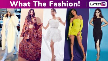 What the Fashion! For Janhvi Kapoor, Priyanka Chopra, Ananya Panday Glamour Costed a Bomb While Bhumi Pednekar, Sonam Kapoor Made Some Modest Choices!