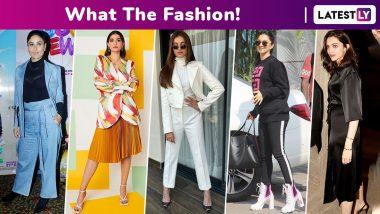 What the Fashion! Tara Sutaria's Extravagant Monotone Moment Pales Sonam Kapoor's Humble Multi-Coloured Style, Deepika Padukone, Kareena Kapoor Khan, Kiara Advani Too Splurge!