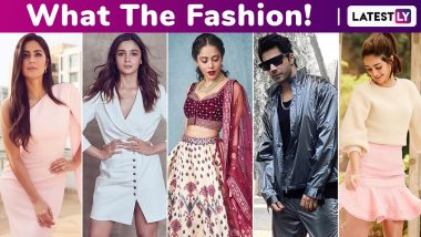 What the Fashion! Katrina Kaif's 1 Lac Pretty Pink Dress Is a Winner Over the Splurges of Varun Dhawan, Alia Bhatt, Nushrat Bharucha and Ananya Panday!