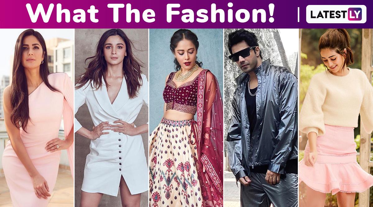 What the Fashion! Katrina Kaif's 1 Lac Pretty Pink Dress Is a Winner Over the Splurges of Varun Dhawan, Alia Bhatt, Nushrat Bharucha and Ananya Panday!