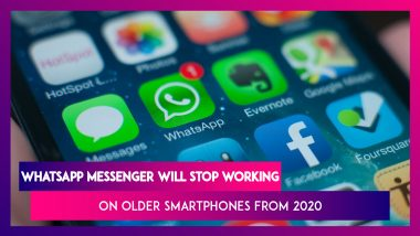 WhatsApp Messenger Will Stop Working On Older Smartphones Running Android & iOS