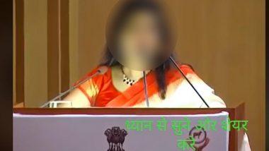 Hyderabad Vet Rape-Murder: Old Video of Woman Entrepreneur Misidentifying Her as Victim Goes Viral on Social Media