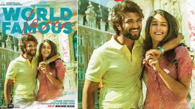 World Famous Lover Poster: Vijay Deverakonda and Izabelle Leit Impress You With Their Love Straight From Paris (View Pic)