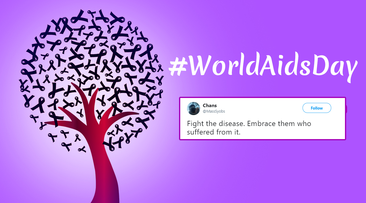 Twitterati Marks World Aids Day 2019 by Exchanging Messages to Spread Awareness About HIV and End Stigma
