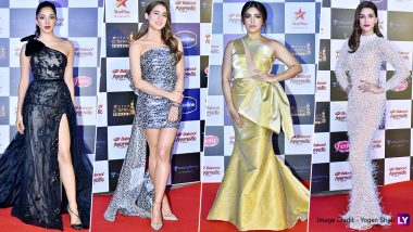 Star Screen Awards 2019 Red Carpet Worst Dressed: Bhumi Pednekar, Kiara Advani, Kriti Sanon and Sara Ali Khan Own the Moment but Leave Nothing to Be Desired For!