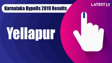 Yellapur Bypoll 2019 Result For Karnataka Assembly: Arabail Hebbar Shivaram of BJP Wins MLA Seat