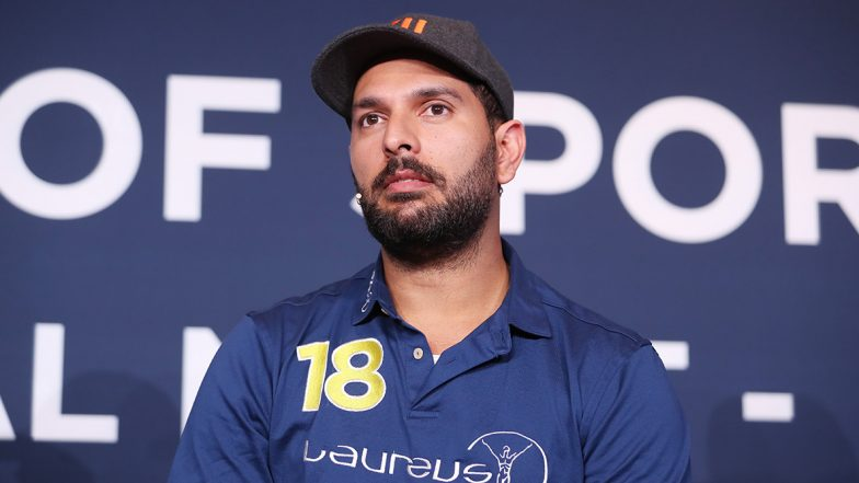 Yuvraj Singh Applauds Policemen for Sharing Food With Needy During COVID-19 Lockdown