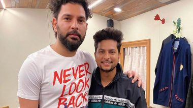 Hat-Trick Hero Kuldeep Yadav Meets Yuvraj Singh, See Instagram Post