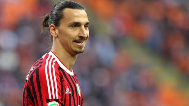 Zlatan Ibrahimovic Models for AC Milan's Next Season Kit Amid His Uncertain Future in Italy