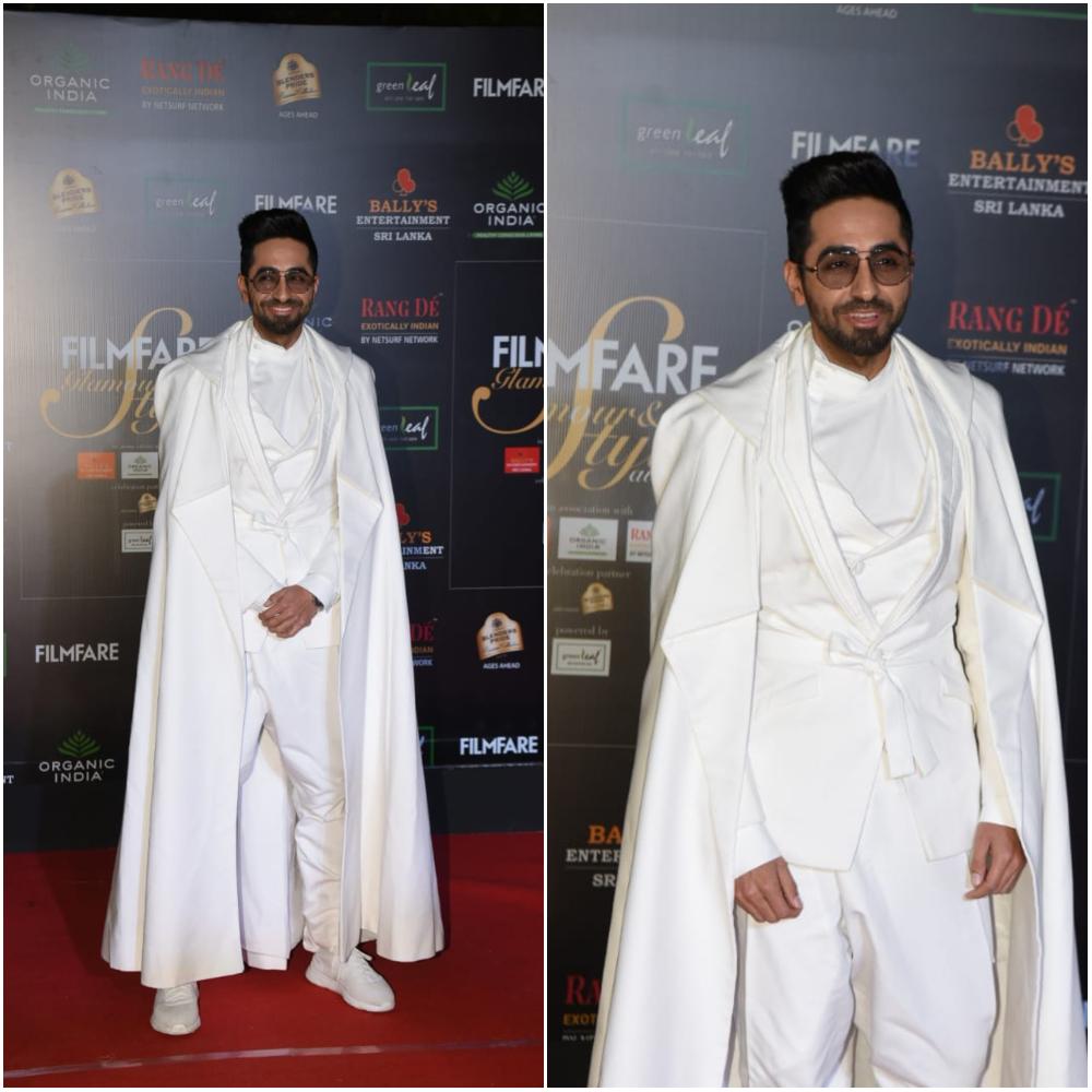 Ayushmann Khurrana at Glamour and Style Awards 2019