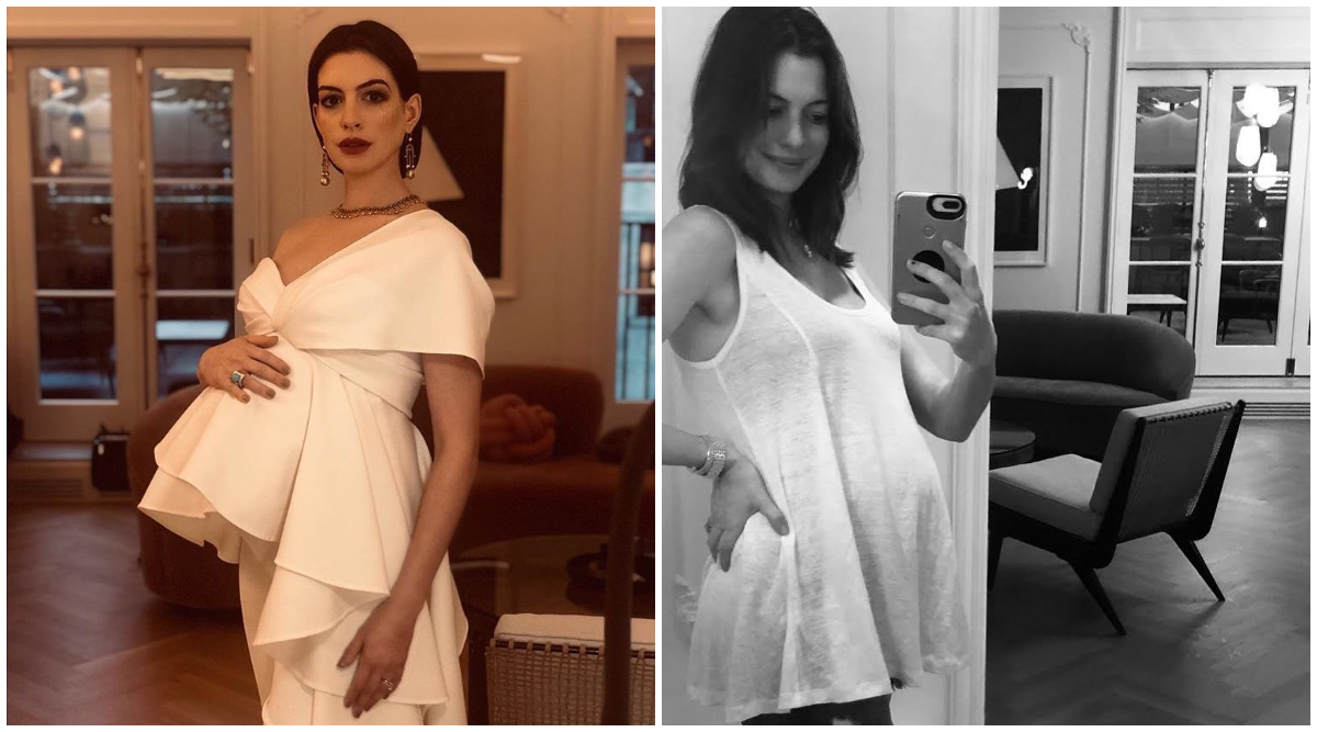 Anne Hathaway Becomes Mother Again, Steps Out With Newborn (See Pics)