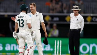 Australia vs New Zealand, 1st Test Match 2019 Day 4 Live Streaming on Sony Liv: How to Watch Free Live Telecast of AUS vs NZ Day-Night Test on TV & Online in India
