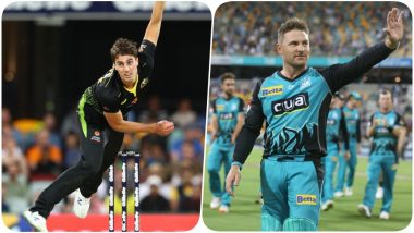 Pat Cummins Becomes the Most Expensive Overseas IPL Player; Australian Pacer Indulges into a Hilarious Exchange of Words with KKR Head Coach Brendon McCullum