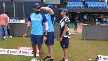 Jasprit Bumrah, Prithvi Shaw Spotted at Indian Cricket Team's Training Session Ahead of India vs West Indies 2nd ODI in Visakhapatnam