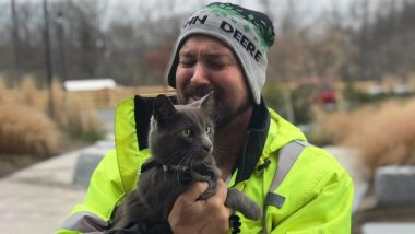 Georgia Man Reunites With His Cat He Lost at Truck Stop in Ohio 5 Months Ago, Thanks to Its Microchip! (View Pic)