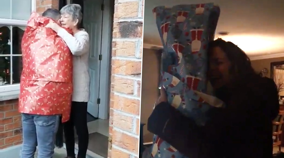 Christmas 2019 Homecoming Videos: People Surprising Their Families for the Holiday Season 2019 Will Definitely Melt Your Hearts