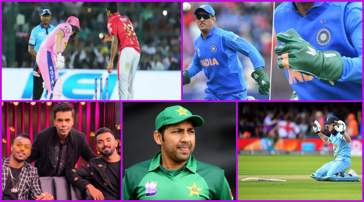 Year Ender 2019: From Ravi Ashwin's Mankading to MS Dhoni's Army Insignia Gloves, Controversies That Rocked Cricket This Year