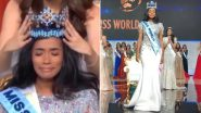 Miss World 2019 Crowning Moment: Miss Jamaica Toni-Ann Singh Wins the 69th Edition of the Beauty Peagant, Watch Video As Vanessa Ponce Places the Tiara!