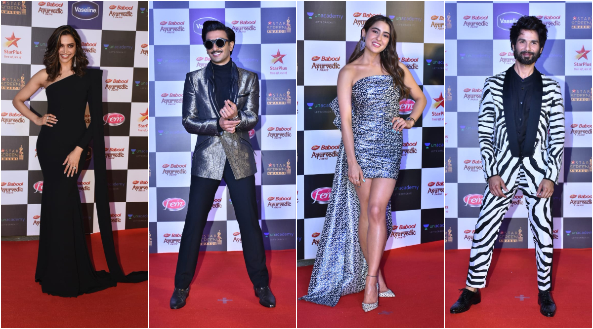 Star Screen Awards 2019 Red Carpet: Deepika Padukone, Ranveer Singh, Shahid Kapoor, Sara Ali Khan Serve the Hottest Looks (View Pics)