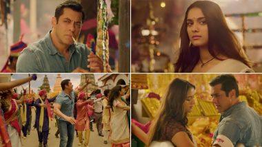Dabangg 3 Song Naina Lade: Young Salman Khan Gets Romantic with Saiee in This Number (Watch Video)