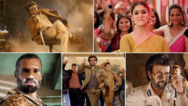 Darbar Trailer: Rajinikanth as Mumbai Cop and Suniel Shetty as Villain Are a Delight to Watch (Video)