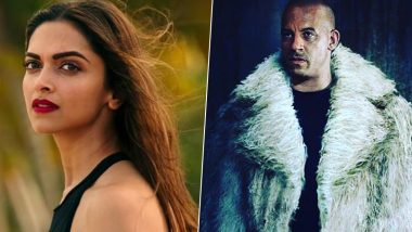 Xander Cage 4: Vin Diesel's Latest Instagram Post CONFIRMS Deepika Padukone's Presence in the Hollywood Actioner (View Pic)