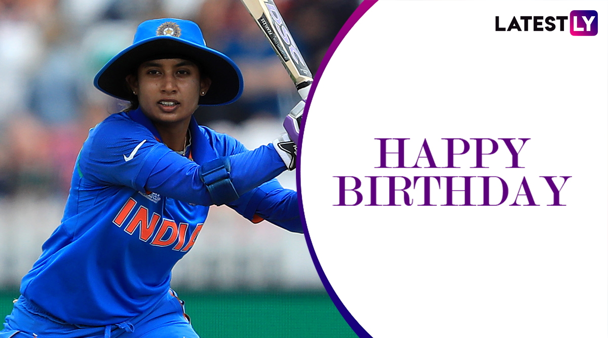 Happy Birthday Mithali Raj: 5 Lesser-Known Things to Know About Star Indian Cricketer As She Turns 37!