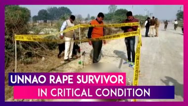 Unnao Rape Survivor Brought To Safdarjung Hospital; In Critical Condition On A Ventilator