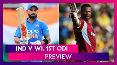 India vs West Indies, 1st ODI At Chennai Preview: Hosts India Seek Strong Start
