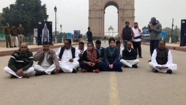 Jamia Millia Islamia Violence: Priyanka Gandhi Leads Protest at India Gate Against Police Crackdown on Students