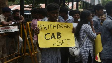 Students Stage Protest in Tamil Nadu and Puducherry Against Citizenship Amendment Act