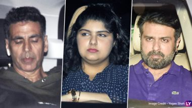 Panipat: Akshay Kumar, Anshula Kapoor, Harman Baweja and Others Attend the Special Screening (View Pics)