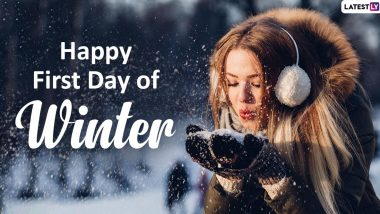 Happy First Day of Winter 2019 Wishes: WhatsApp Stickers, GIF Images, Facebook Greetings, Winter Solstice Quotes and Messages to Mark the Cozy Season